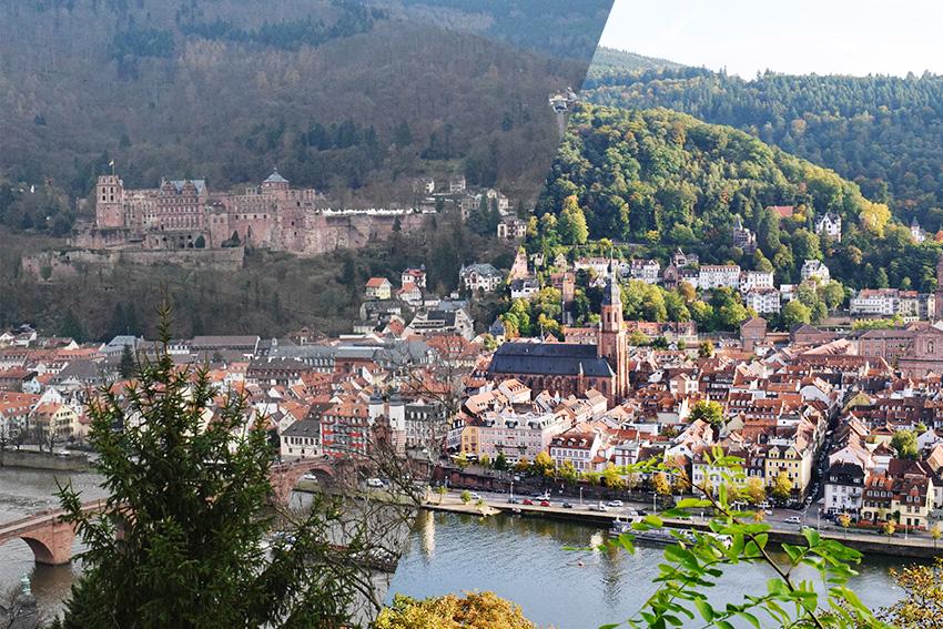 Heidelberg-winter&sommer