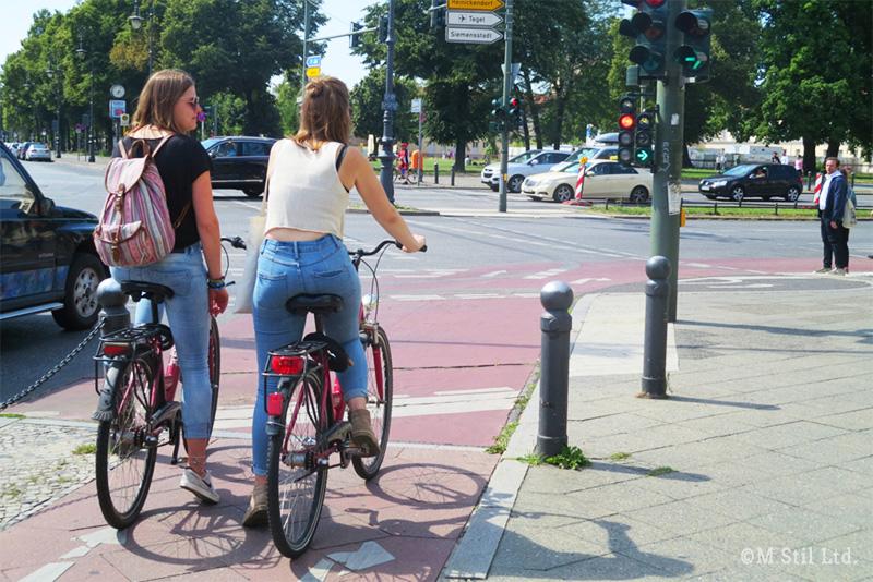 自転車利用者も多いベルリン