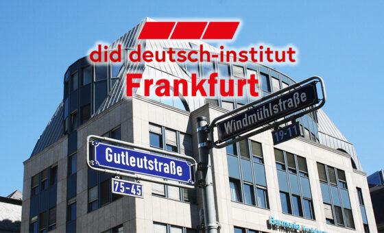 フランクフルトの語学学校did