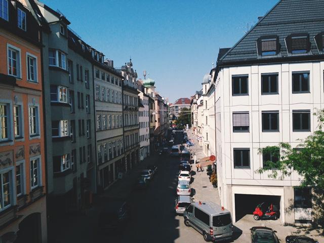 BWSミュンヘン校からの眺め