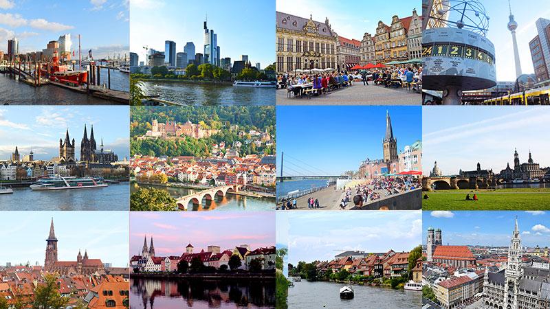 特色あるドイツの都市