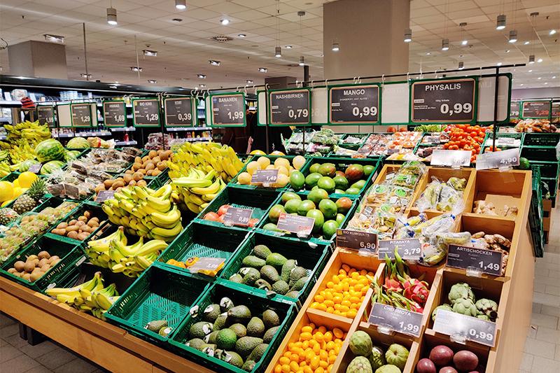 ドイツの物価スーパーマーケット