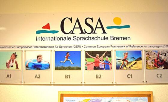 ブレーメンの語学学校CASA