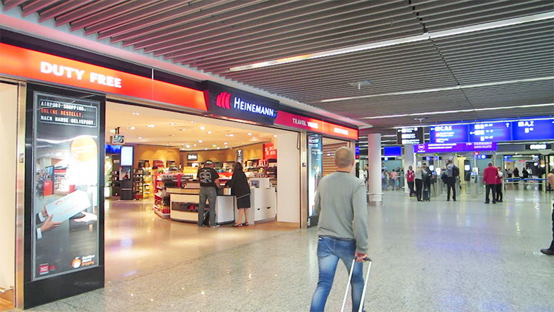フランクフルト空港の免税店